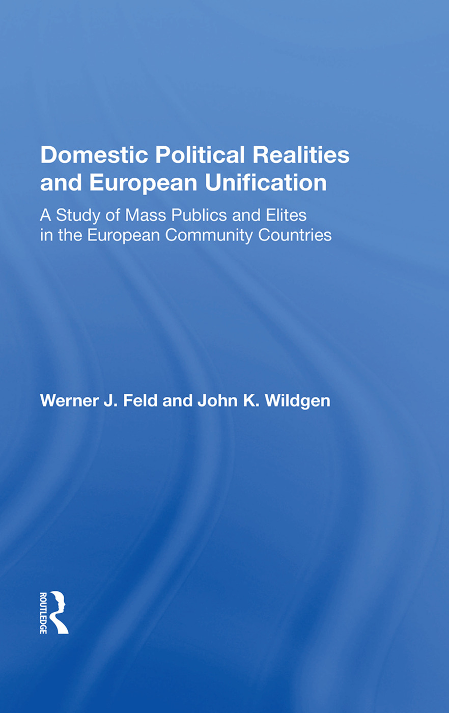 Domestic Realities Europ/h: 1st Edition (Hardback) book cover
