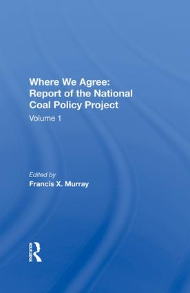 National Coal Policy Vol 1: 1st Edition (e-Book) book cover