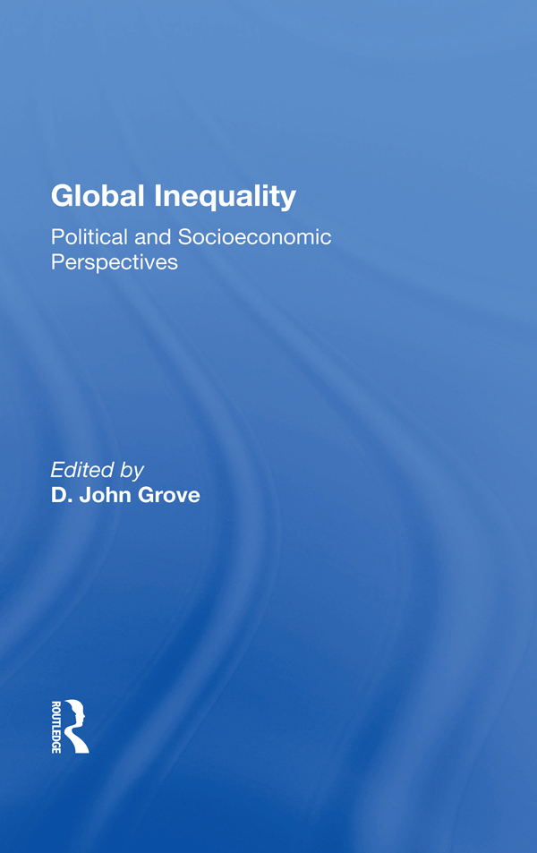 Global Inequality book cover