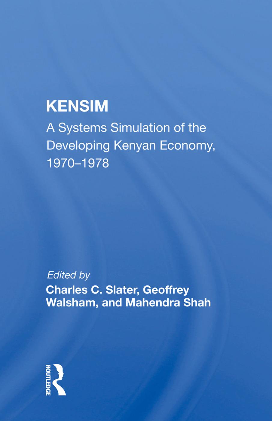 Kensim Syst Dev Kenya/h: 1st Edition (Paperback) book cover