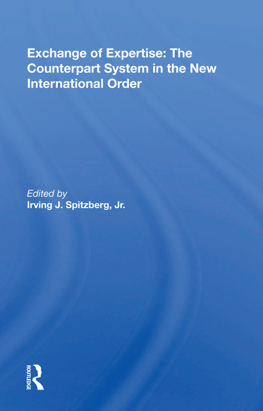 Exchange Of Expertise/h: 1st Edition (Paperback) book cover