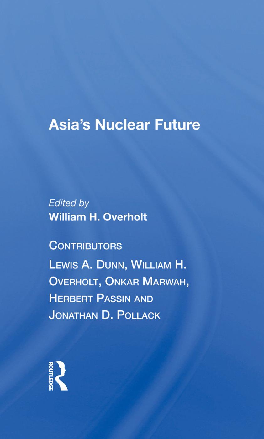 Asia's Nuclear Future/h book cover