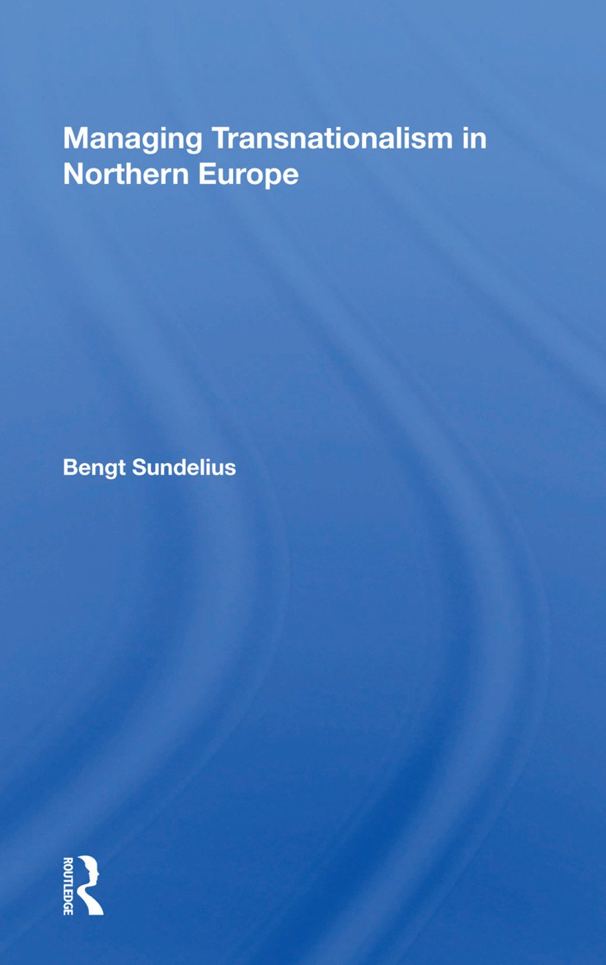 Managing Transnationalism in Northern Europe: 1st Edition (Hardback) book cover