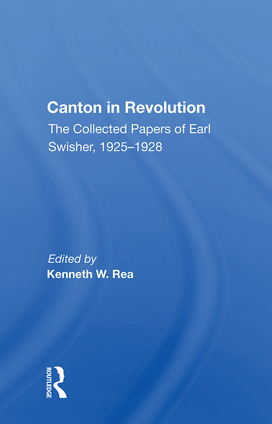 Canton In Revolution/h book cover