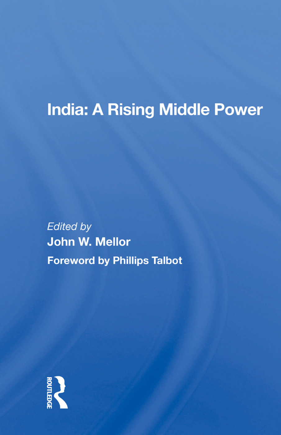 India: A Rising Middle Power: 1st Edition (e-Book) book cover