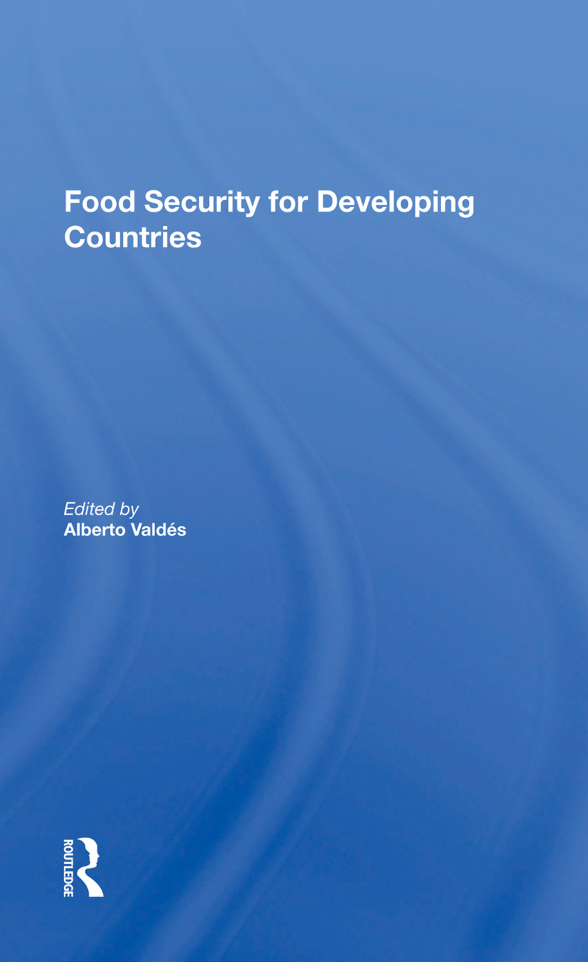 Food Security For Developing Countries: 1st Edition (Paperback) book cover
