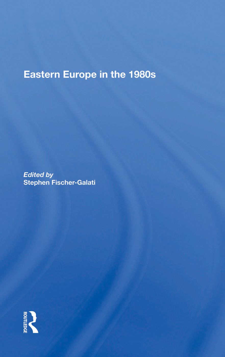 Eastern Europe In The 1980s: 1st Edition (Paperback) book cover