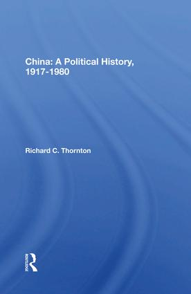 The Soviet Union and the Chinese People's Republic, 1949-1959
