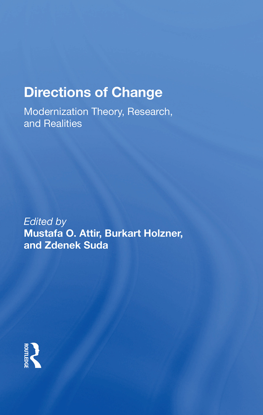 Directions Of Change: Modernization Theory, Research, And Realities, 1st Edition (Paperback) book cover