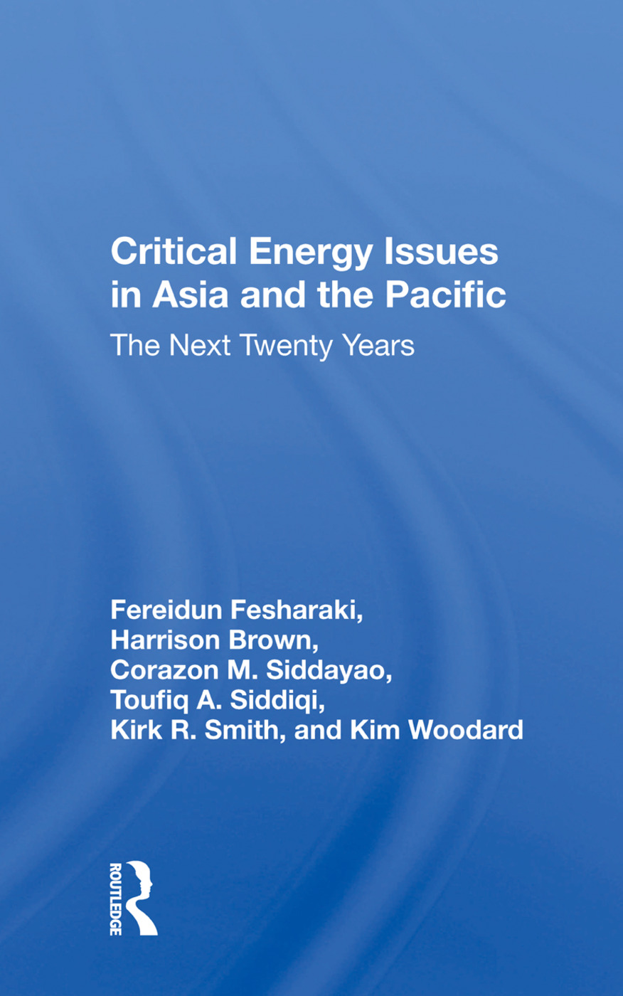 Critical Energy Issues In Asia And The Pacific: The Next Twenty Years book cover