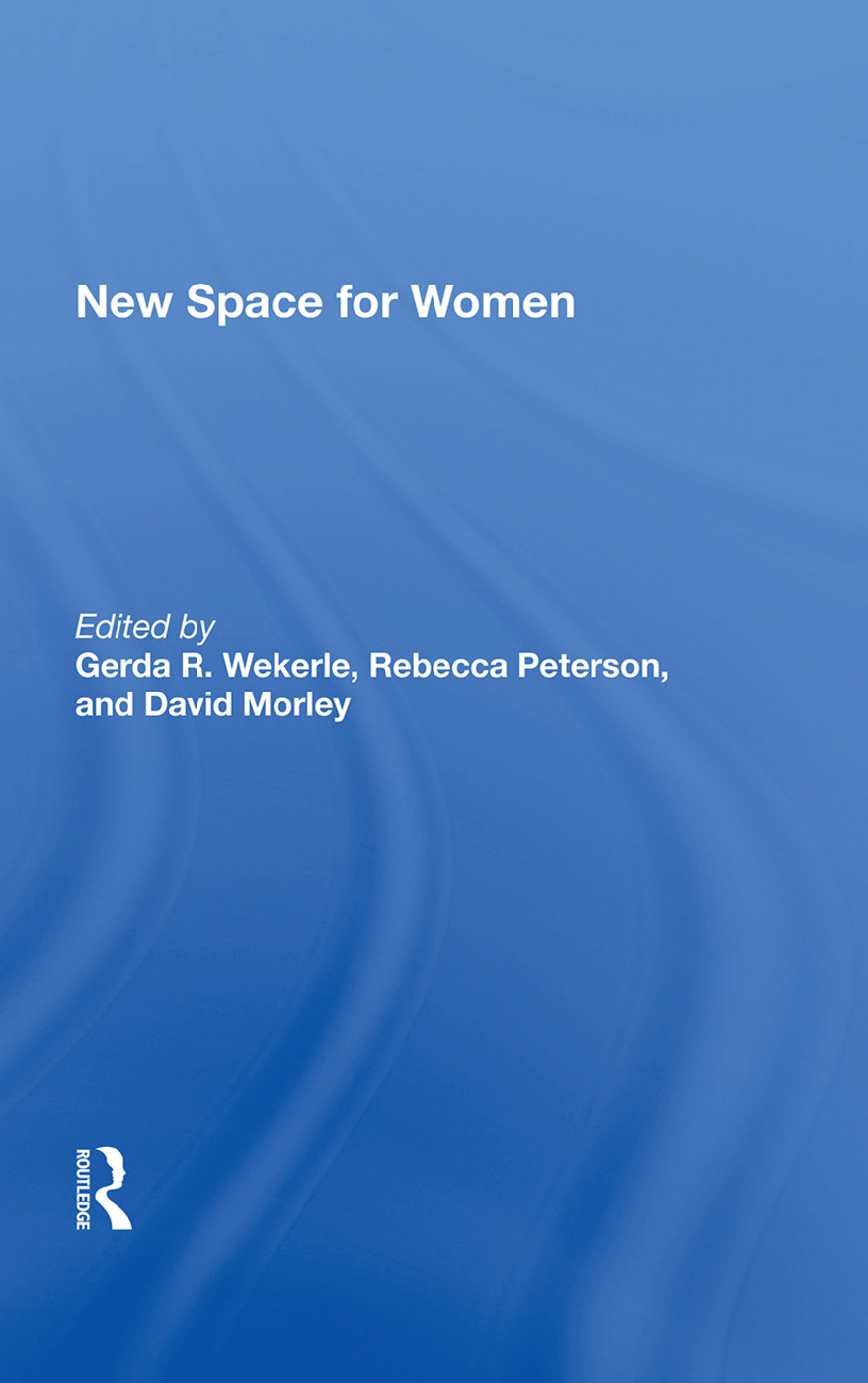 New Space For Women: 1st Edition (Hardback) book cover
