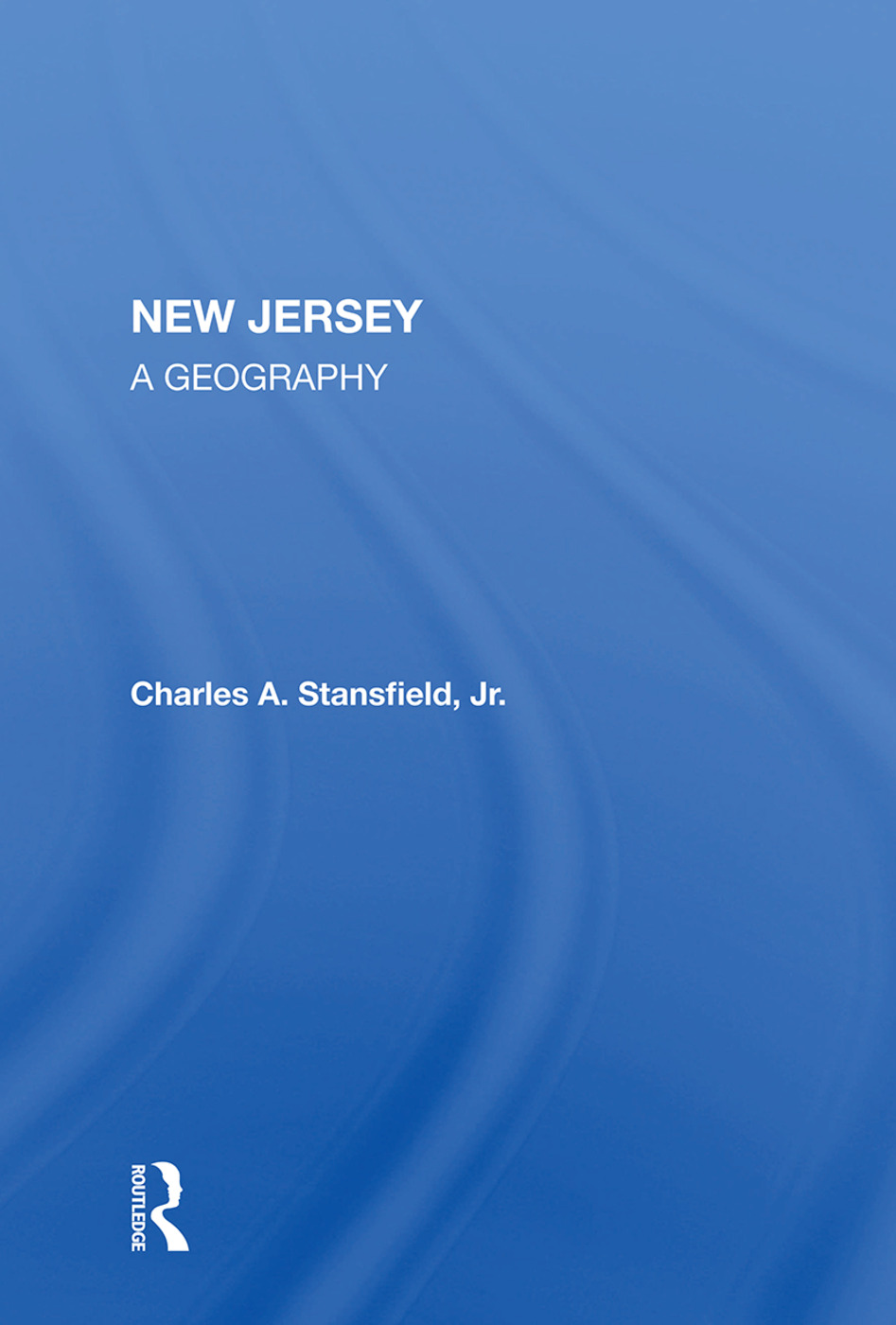 New Jersey: A Geography, 1st Edition (Paperback) book cover