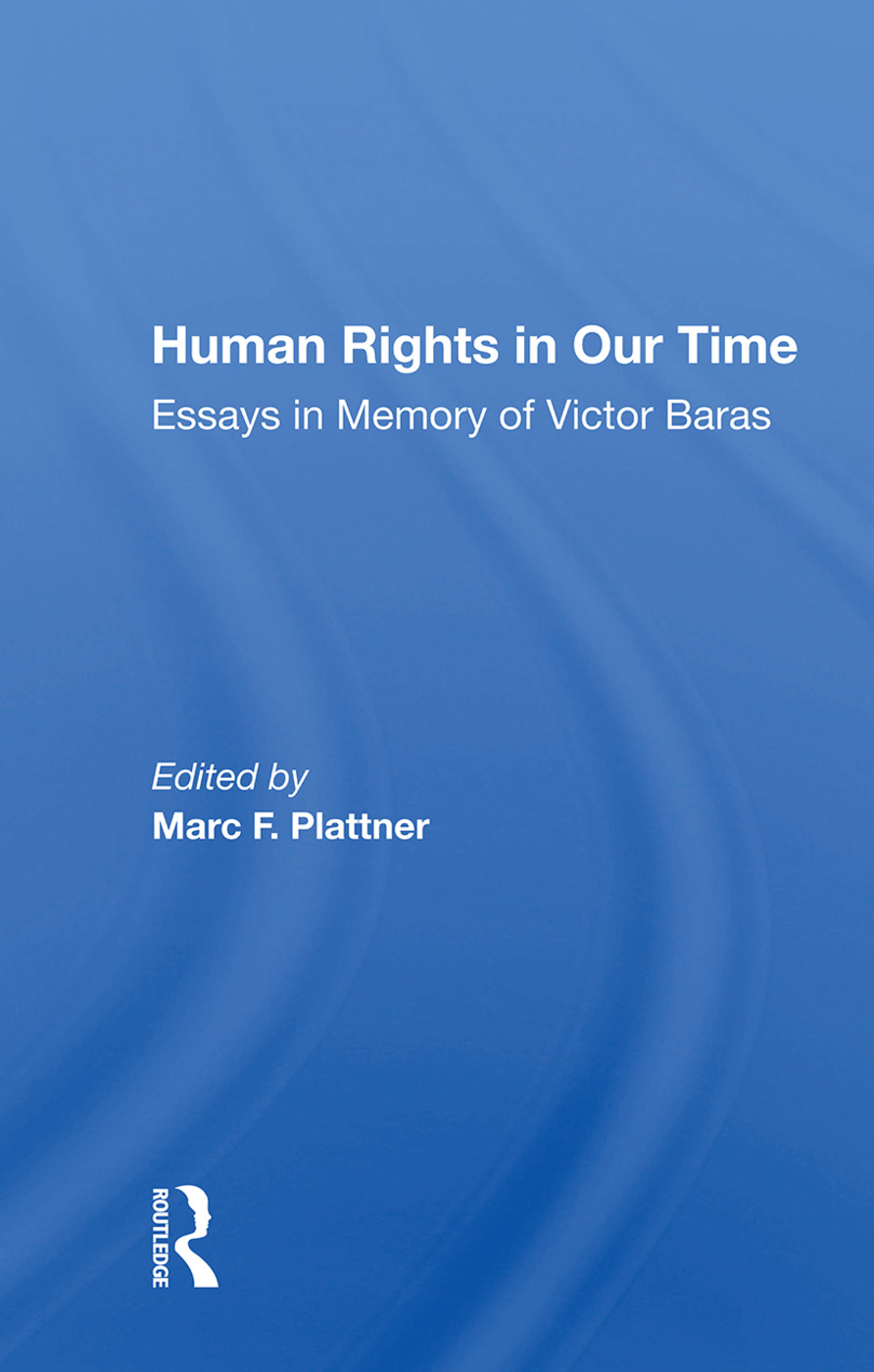 Human Rights In Our Time: Essays In Memory Of Victor Baras, 1st Edition (Paperback) book cover