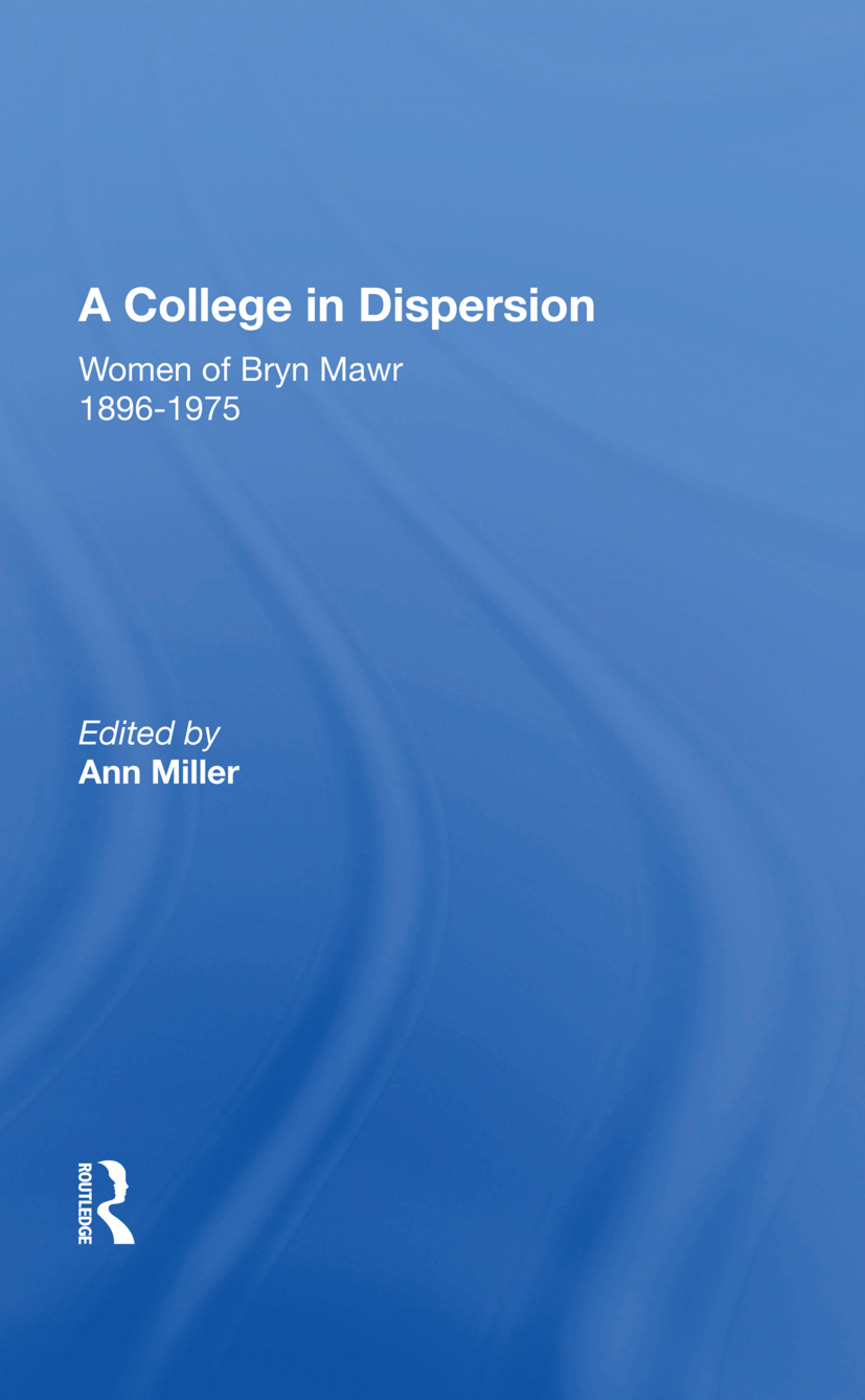 A College In Dispersion/h: 1st Edition (Paperback) book cover