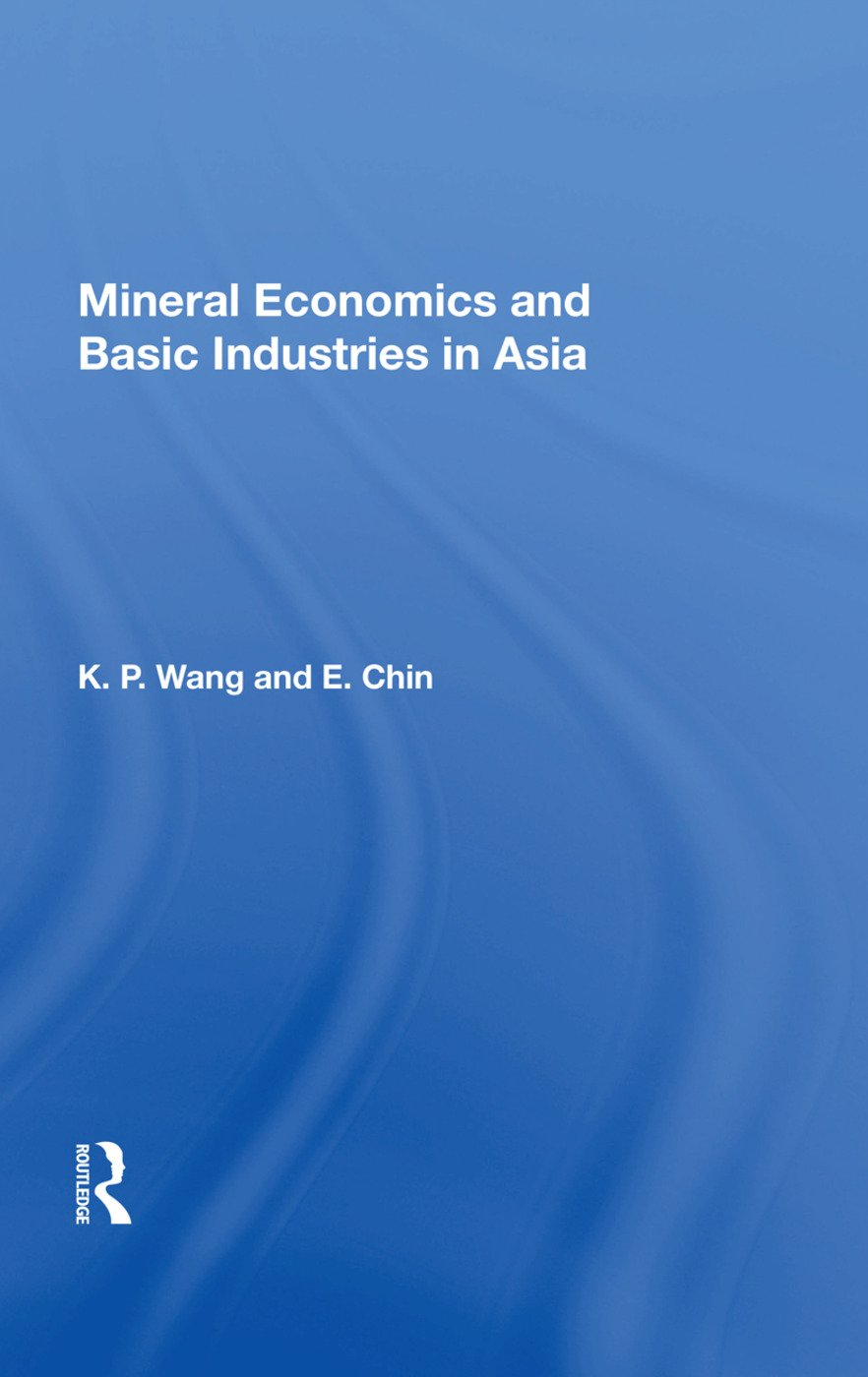 Mineral Econ Asia/h: 1st Edition (Paperback) book cover