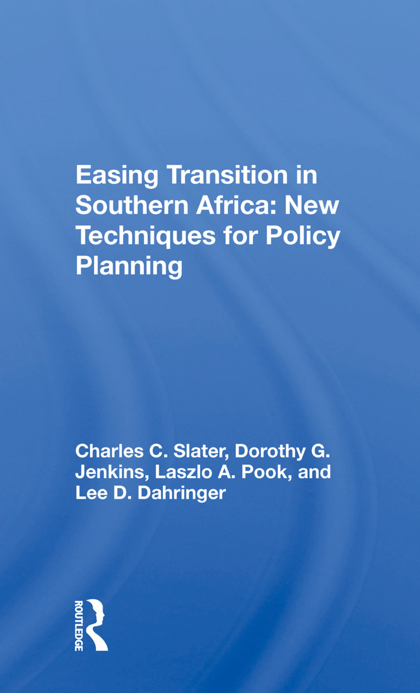 Easing Transition in Southern Africa: New Techniques for Policy Planning