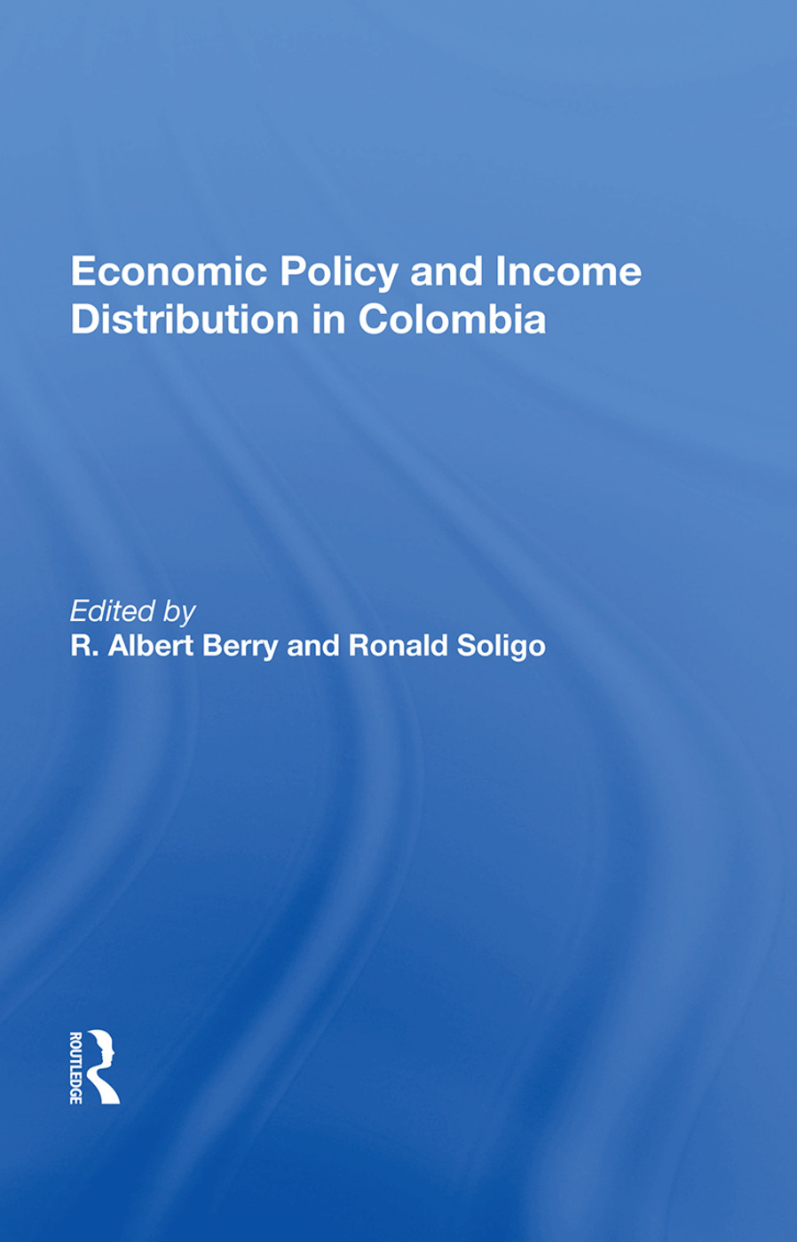 Economic Policy And Income Distribution In Colombia book cover
