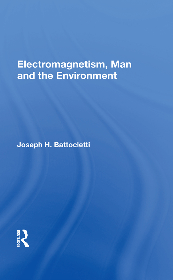 Electromagnetism Man And The Environment: 1st Edition (Paperback) book cover