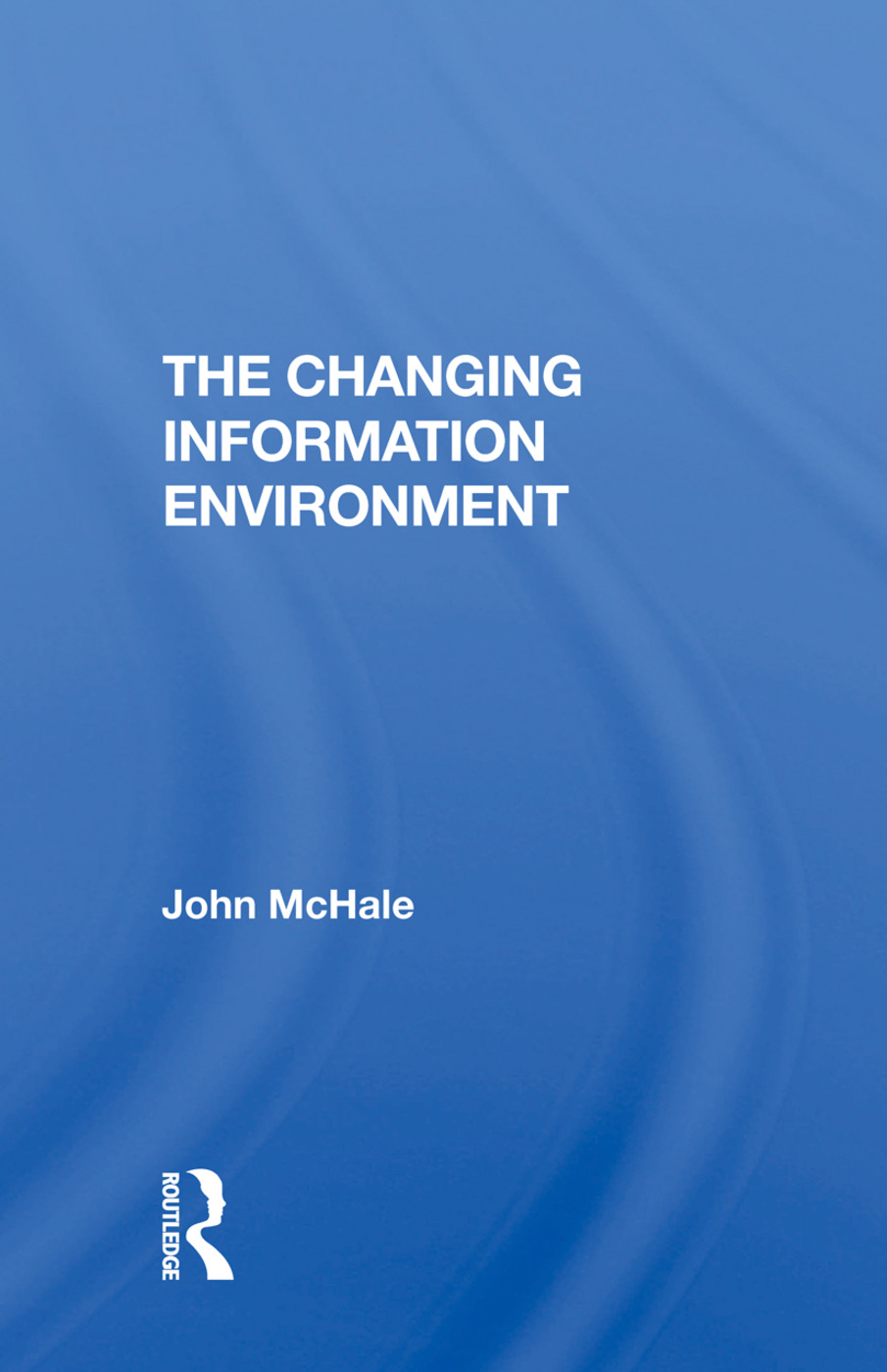 Changing Info Environment/h: 1st Edition (Paperback) book cover