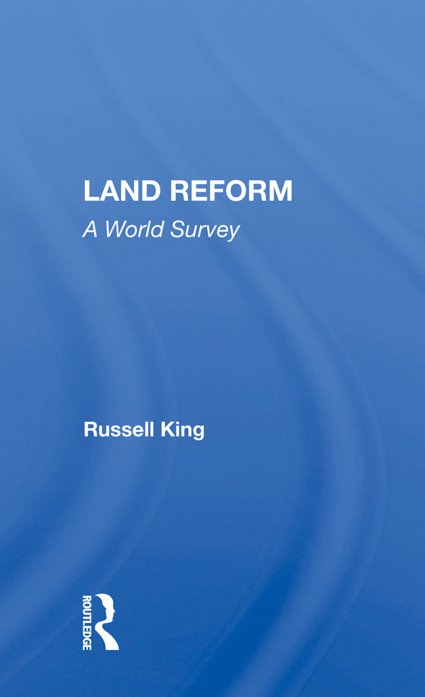 Land Reform: A World Survey, 1st Edition (Paperback) book cover