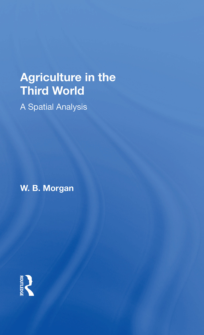 Agriculture In Third Wrl/h: 1st Edition (Paperback) book cover