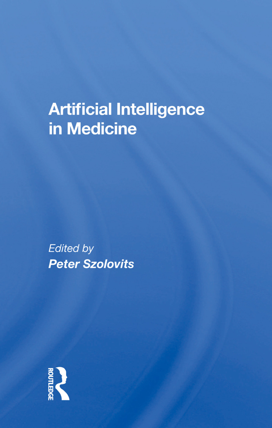 Artificial Intelligence In Medicine book cover