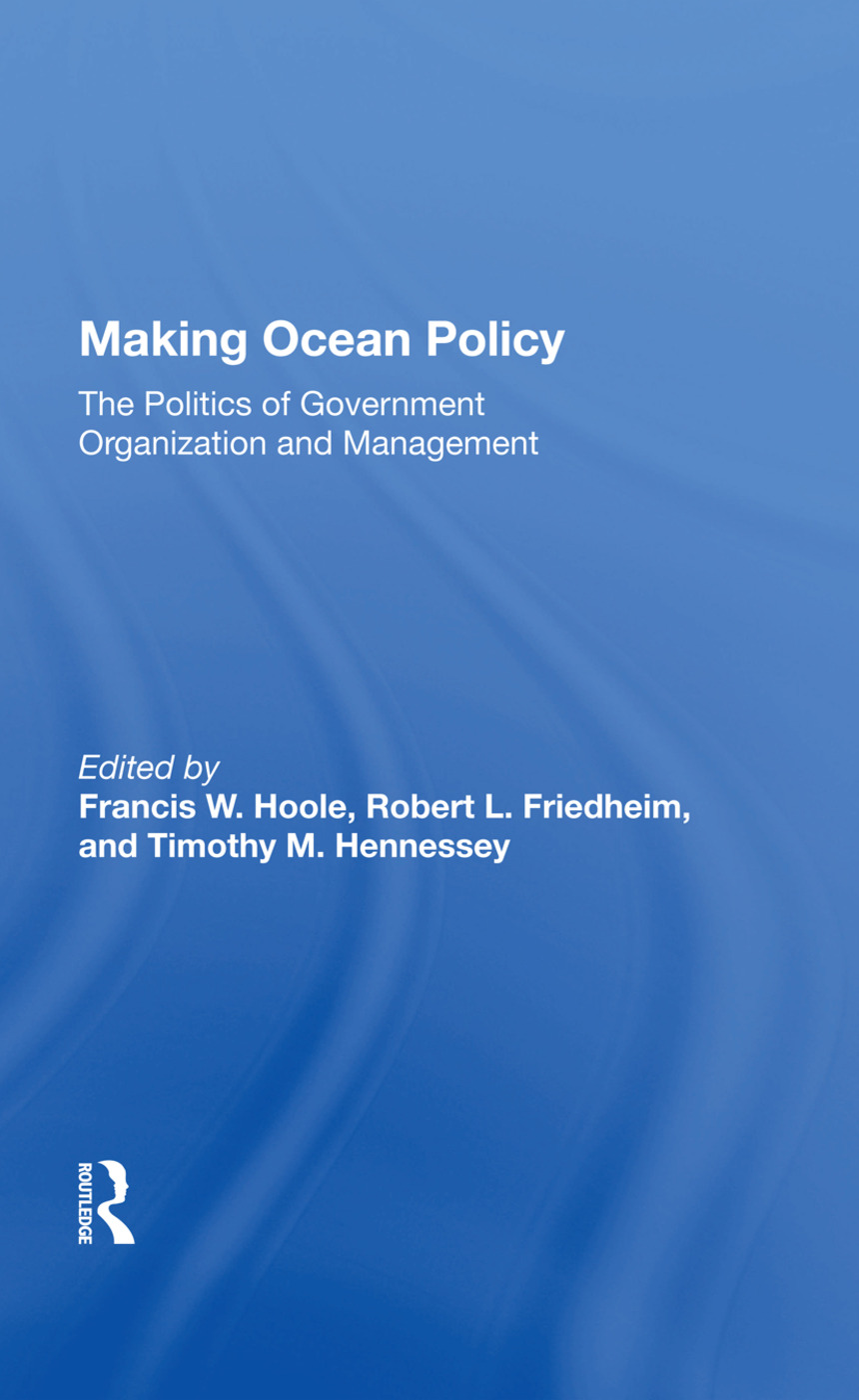Making Ocean Policy