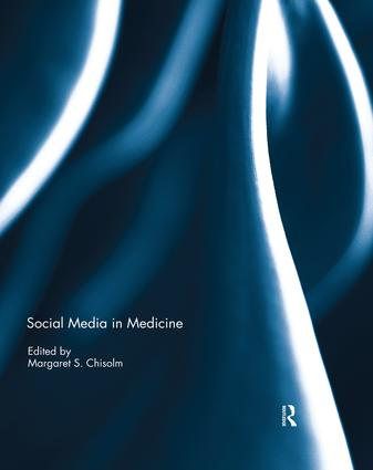Social Media in Medicine book cover