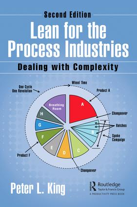 Lean for the Process Industries: Dealing with Complexity, Second Edition, 2nd Edition (Hardback) book cover