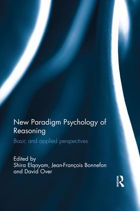 New Paradigm Psychology of Reasoning: Basic and applied perspectives, 1st Edition (Paperback) book cover
