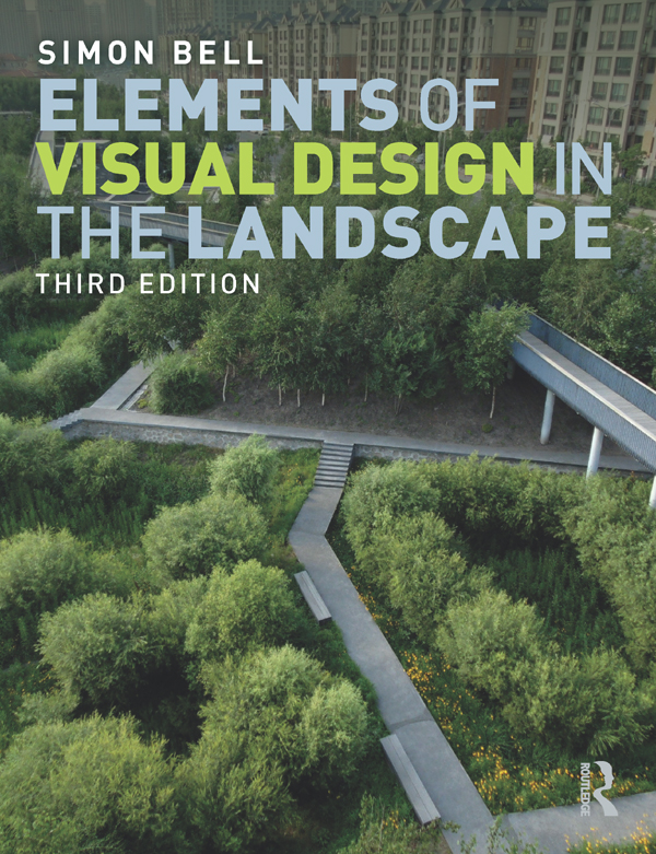 Elements of Visual Design in the Landscape: 3rd Edition (e-Book) book cover