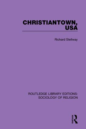 Christiantown, USA: 1st Edition (Hardback) book cover