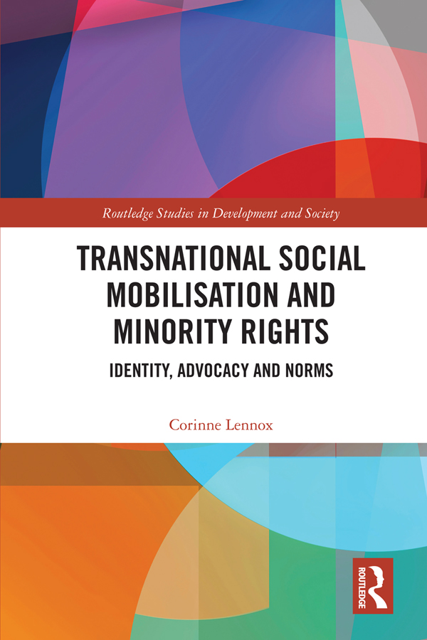 Transnational Social Mobilisation and Minority Rights: Identity, Advocacy and Norms book cover