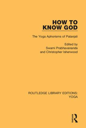 How to Know God: The Yoga Aphorisms of Patanjali book cover
