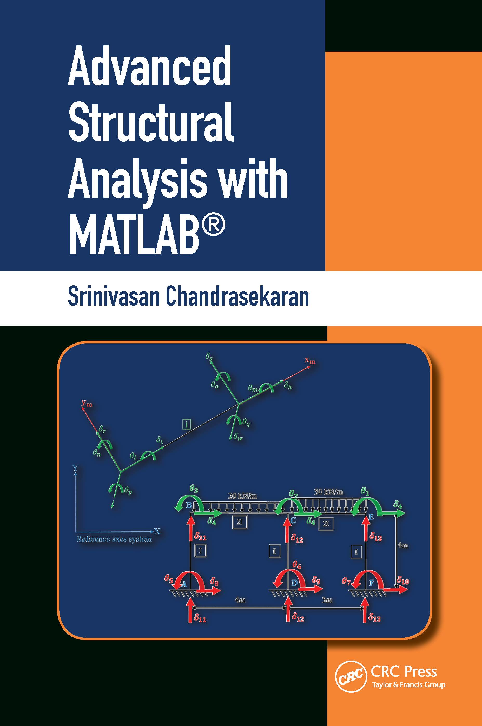 Advanced Structural Analysis with MATLAB®: 1st Edition (Hardback) book cover