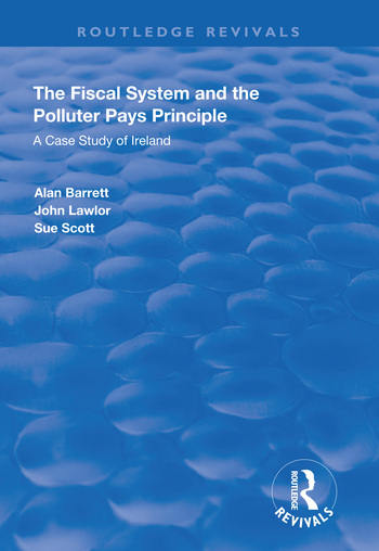 The Fiscal System and the Polluter Pays Principle