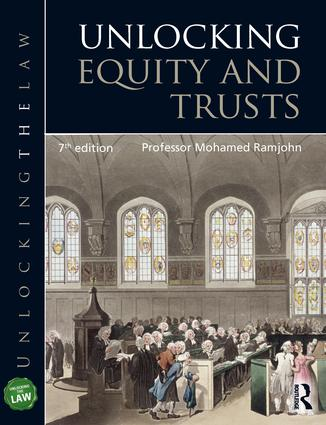 Unlocking Equity and Trusts book cover