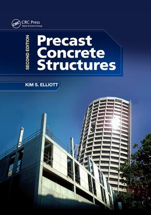 Precast Concrete Structures: 2nd Edition (Paperback) book cover
