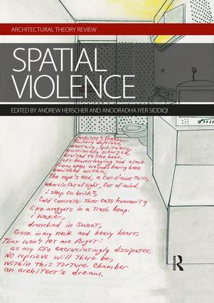 Spatial Violence book cover