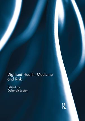 Digitised Health, Medicine and Risk book cover