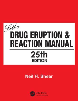 Litt's Drug Eruption & Reaction Manual 25E book cover