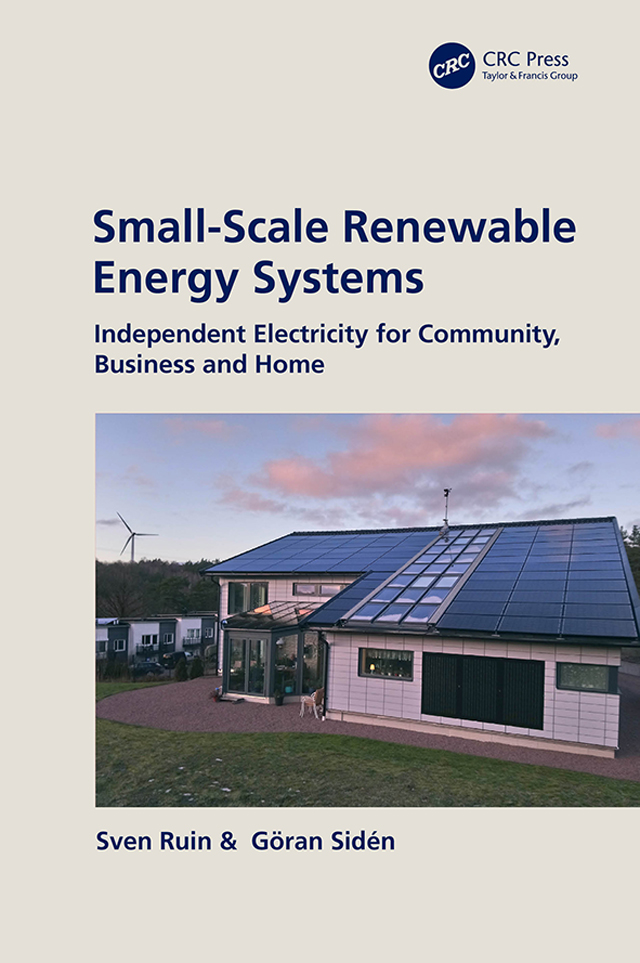 Small-Scale Renewable Energy Systems: Independent Electricity for Community, Business and Home book cover