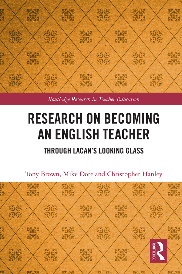 Research on Becoming an English Teacher: Through Lacan's Looking Glass book cover