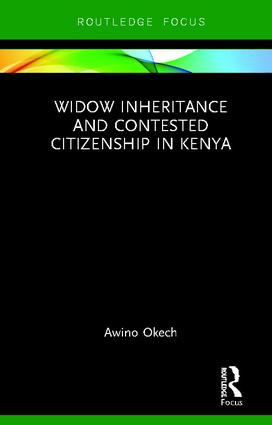 Widow Inheritance and Contested Citizenship in Kenya book cover