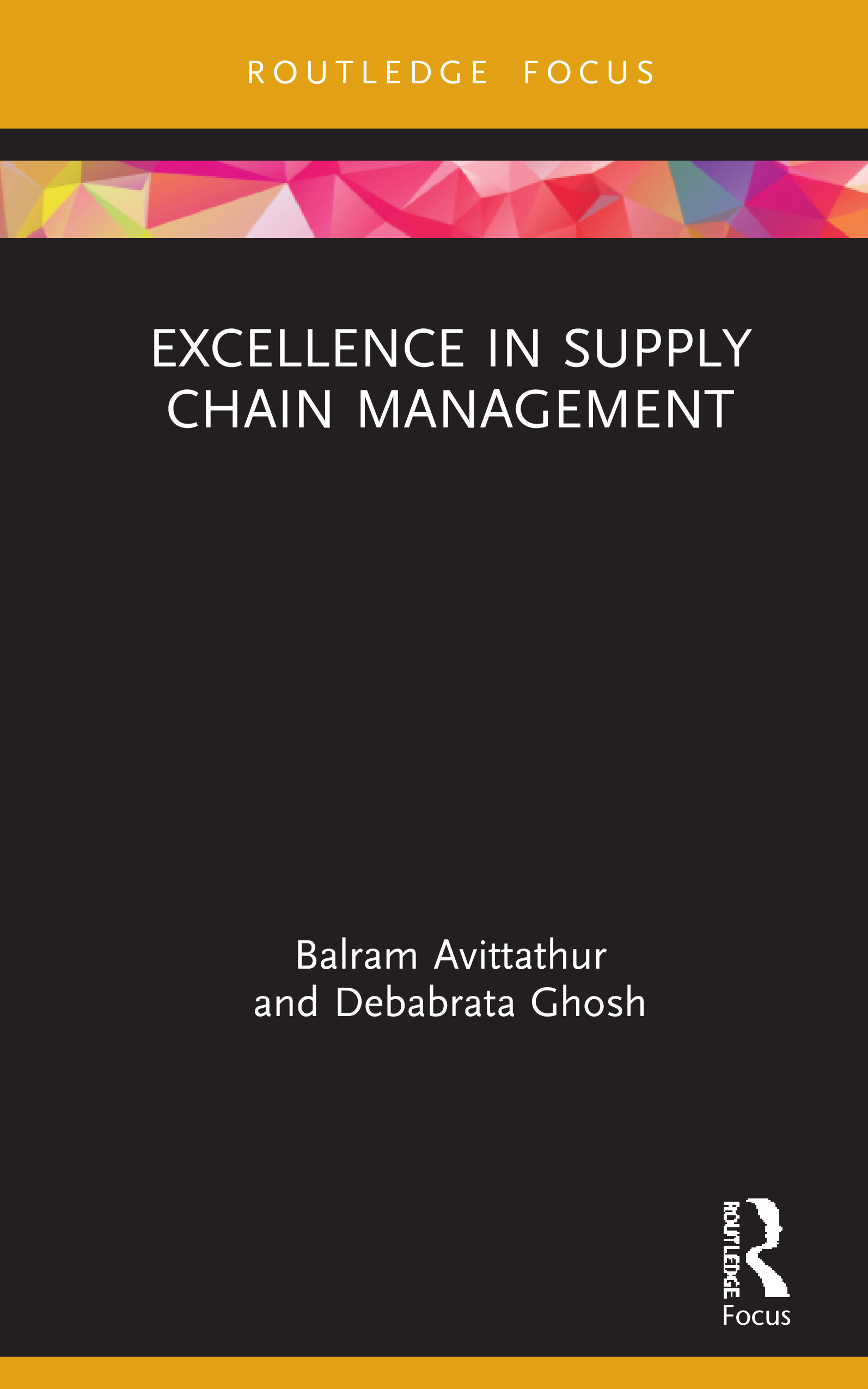 Excellence in Supply Chain Management book cover