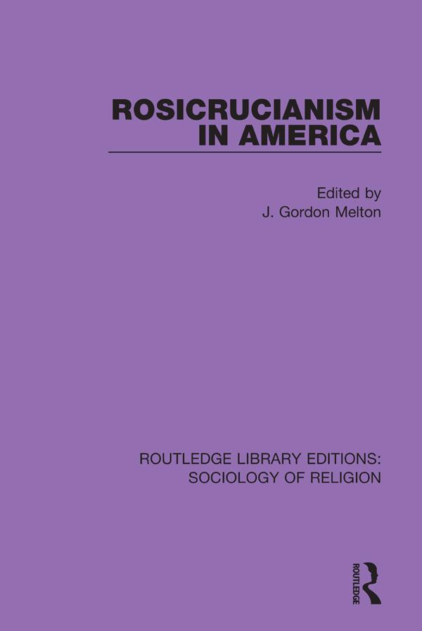 Rosicrucianism in America