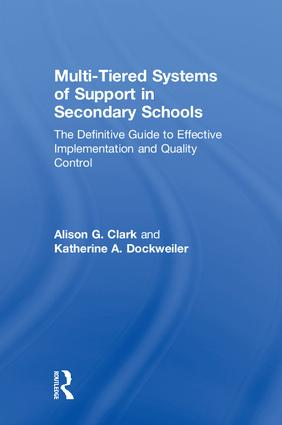 Multi-Tiered Systems of Support in Secondary Schools: The Definitive Guide to Effective Implementation and Quality Control book cover