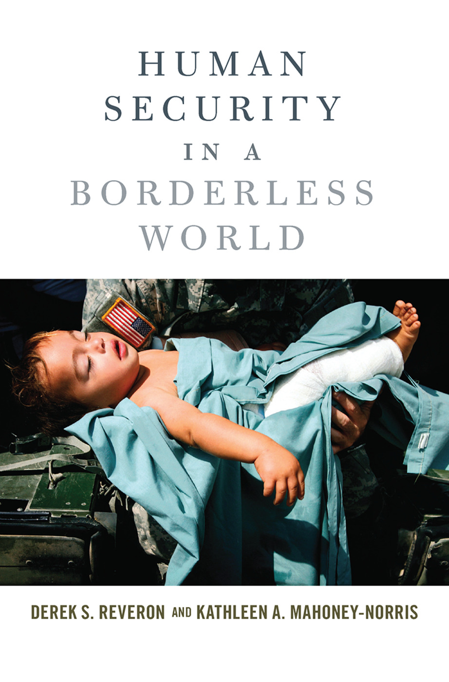Human Security in a Borderless World book cover