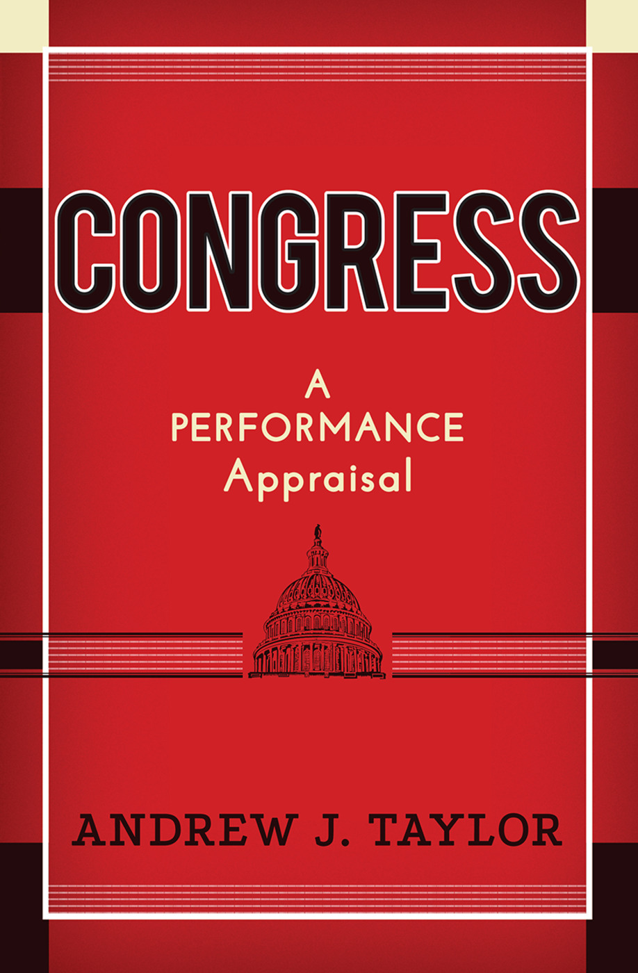 Congress: A Performance Appraisal, 1st Edition (Hardback) book cover