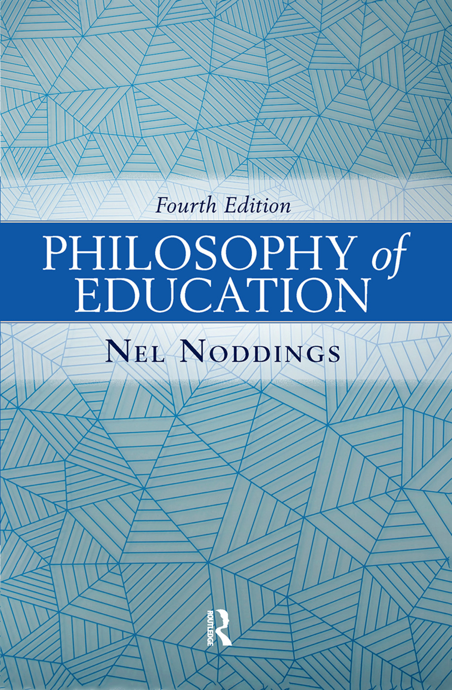 Philosophy of Education: 4th Edition (Hardback) book cover